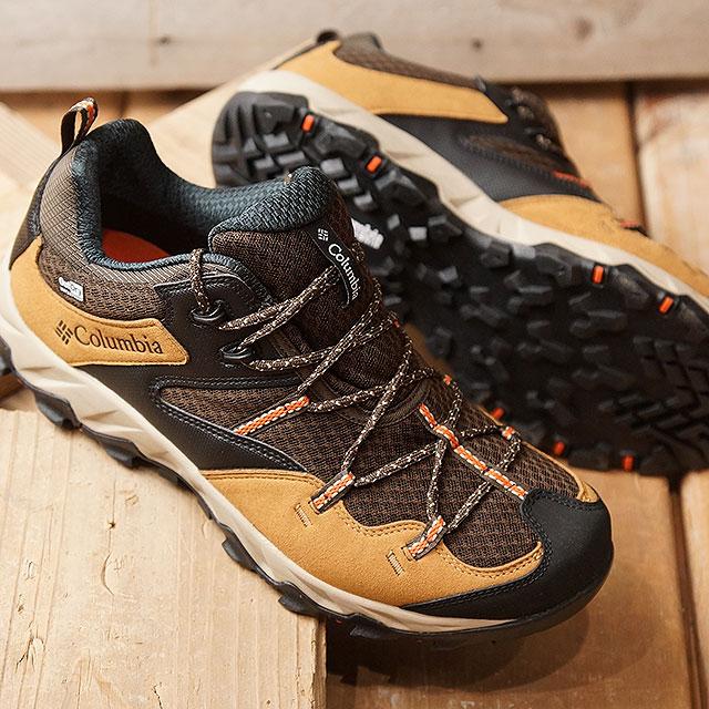 【即納】コロンビア Columbia セイバー4 ロウ アウトドライ SABER IV LO OUTDRY メンズ スニーカー トレイルランニング 靴 Maple (YM7462-264 SS19)