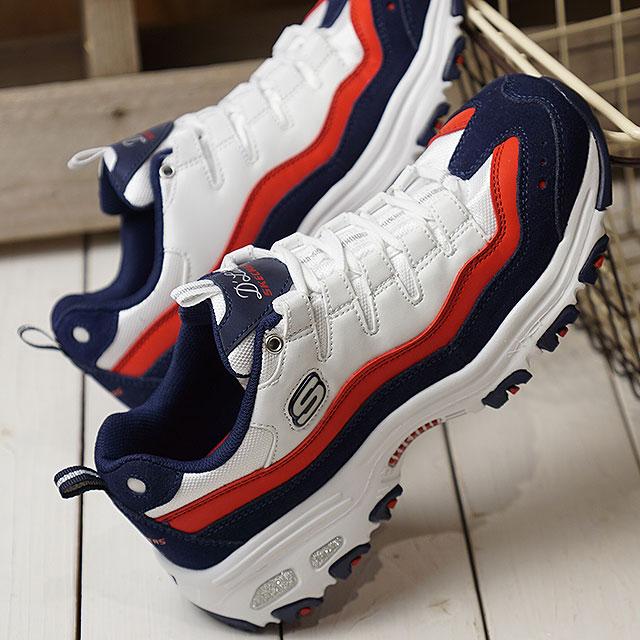 スケッチャーズ SKECHERS ディーライツサーシング D' Lites Sure Thing Lady's sneakers shoes WNVR (13141 SS19)