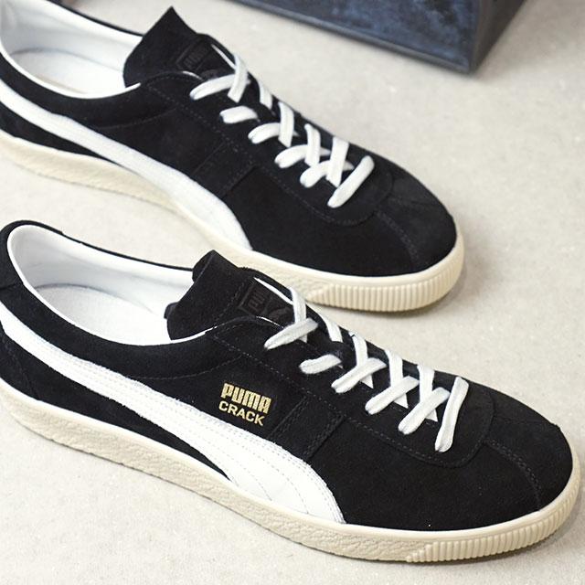 【即納】プーマ PUMA プーマ クラック ヘリテージ PUMA CRACK HERITAGE メンズ スニーカー 靴 プーマ ブラック (365886-03 SS19)