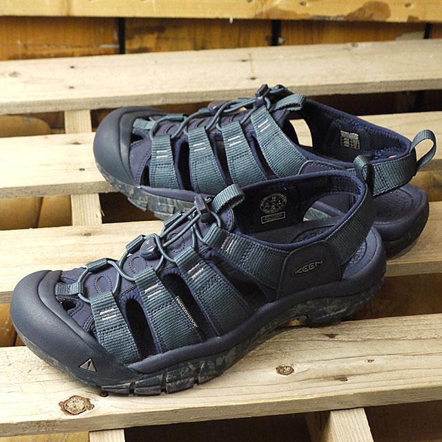 【即納】キーン KEEN メンズ ニューポート エイチツー MEN NEWPORT H2 サンダル 靴 Blue Nights/Swirl Outsole (1020286 SS19)
