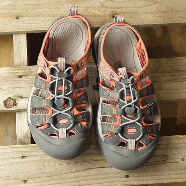 【即納】キーン KEEN レディース ニューポート エイチツー WOMEN NEWPORT H2 サンダル 靴 Magnet/Coral (1018947 SS19)
