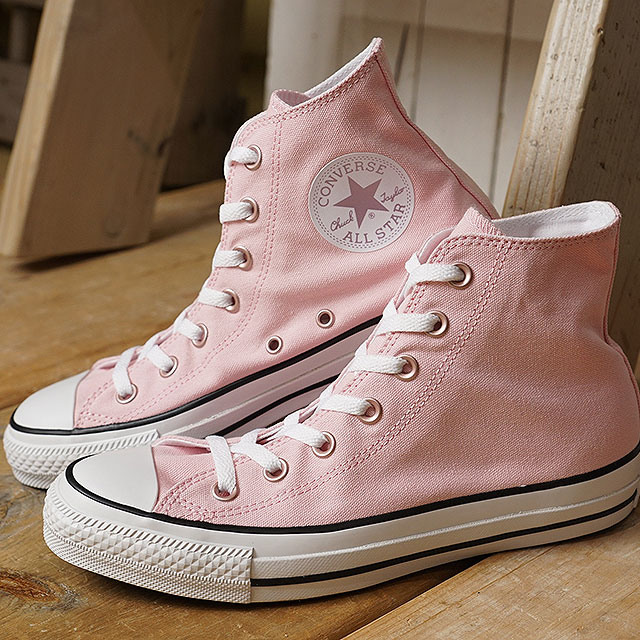 Converse CONVERSE all stars pastels higher frequency elimination ALL STAR PASTELS HI Lady's sneakers shoes pink (32995122 SS19)