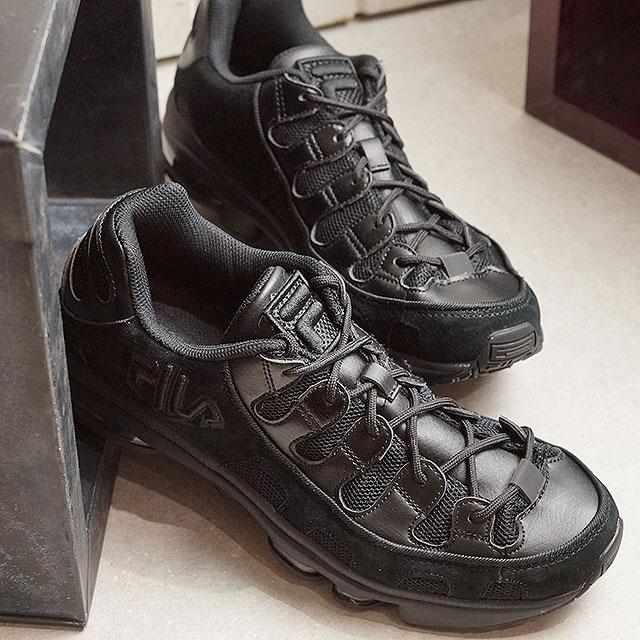 Fila FILA Silva sweat shirt SILVA TRAINER men レディースダッドスニーカー shoes black black black (F0247 0001 SS19)