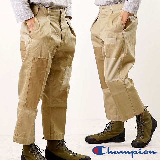 【即納】チャンピオン Champion メンズ ブローケン チノパンツ BROKEN CHINO PANTS (C3-P204 SS19)
