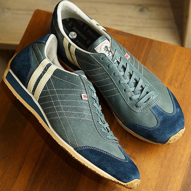 【返品送料無料】パトリック PATRICK アイリス・カプラ IRIS-CAPRA メンズ レディース 日本製 スニーカー 靴 ブルー系 B/G (531124 SS19)
