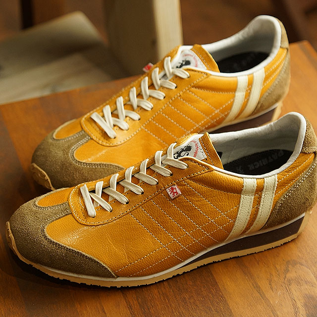 【月間優良ショップ】【あす楽対応】【返品送料無料】パトリック PATRICK アイリス・カプラ IRIS-CAPRA メンズ レディース 日本製 スニーカー 靴 ベージュ系 CML (531125 SS19)
