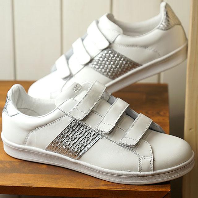 アドミラル Admiral グリーンパーク2 GREENPARK 2 メンズ レディース スニーカー カジュアル 靴 White/Silver (SJAD1901-0120 SS19)