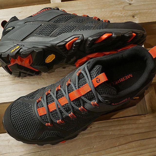 【即納】メレル MERRELL メンズ モアブ FST2 ゴアテックス MNS MOAB FST2 GORE-TEX ハイキング トレッキングシューズ スニーカー 靴 BLACK/GRANITE ブラック系 (77443 SS19)