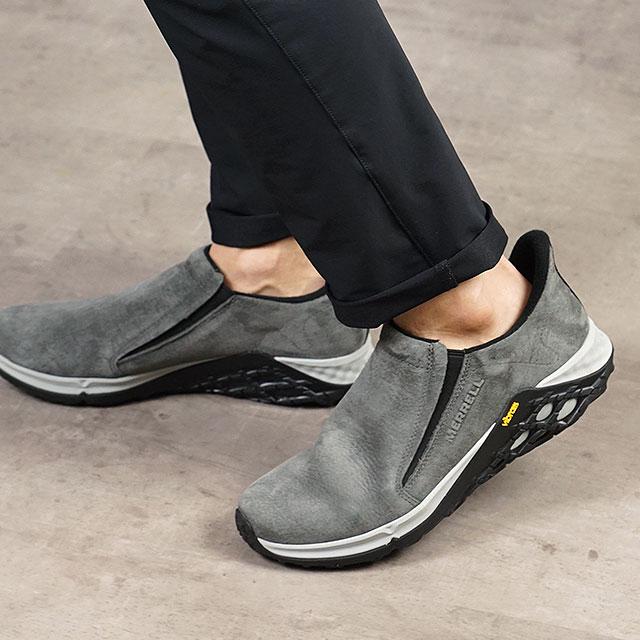 【月間優良ショップ】メレル MERRELL メンズ ジャングルモック2.0 MNS JUNGLE MOC 2.0 スリッポン カジュアル コンフォート スニーカー 靴 GRANITE グレー系 (94523 SS19)