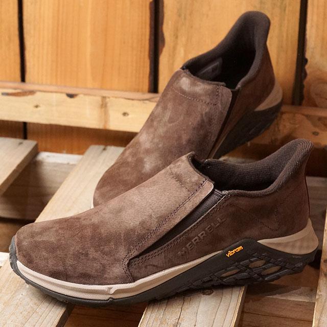 【即納】メレル MERRELL レディース ジャングルモック2.0 WMS JUNGLE MOC 2.0 スリッポン カジュアル コンフォート スニーカー 靴 ESPRESSO ブラウン系 (90626 SS19)
