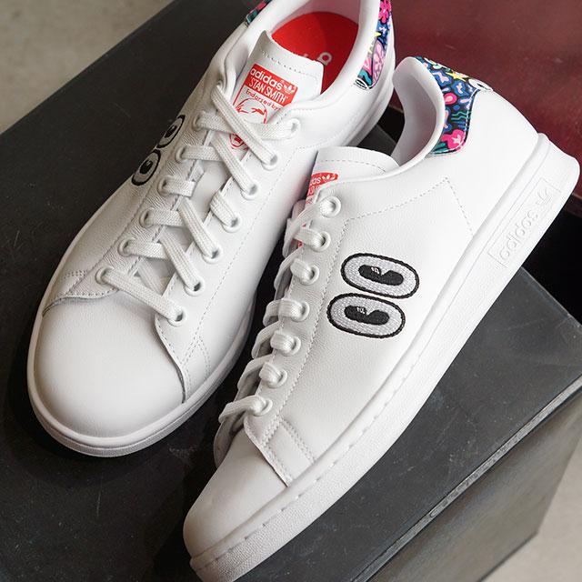 【即納】アディダス オリジナルス adidas Originals レディース スタンスミス ウィメンズ STAN SMITH W スニーカー 靴 Rホワイト/AレッドS19 ホワイト系 (CEC66/CM8417 SS19Q2)