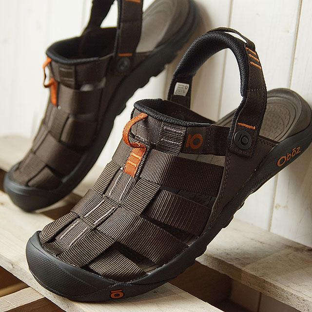 オボズ Oboz メンズ キャンプスター Campster サンダル スポーツサンダル 靴 Turkish Coffee ブラウン系 (60501 SS19)