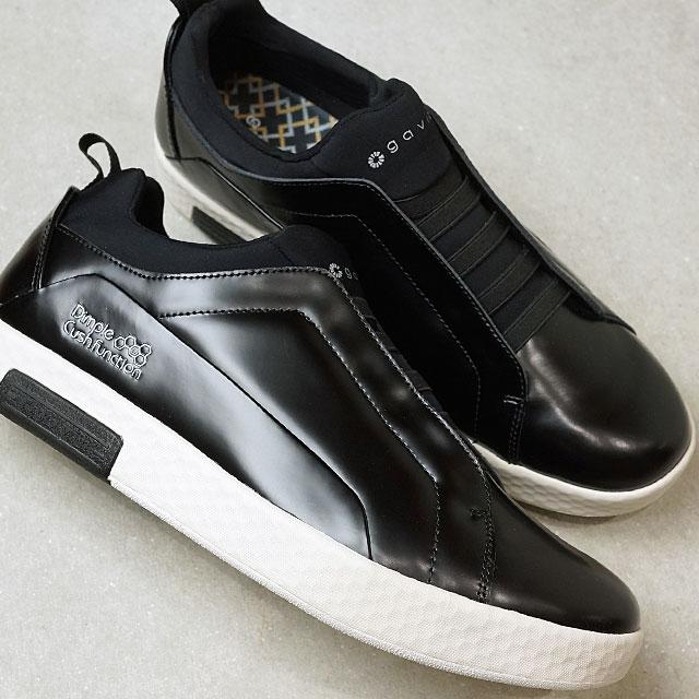 【即納】ガビック gavic シータ SITA メンズ レディース スリッポン スニーカー 靴 BLK ブラック系 (18330070 SS19)