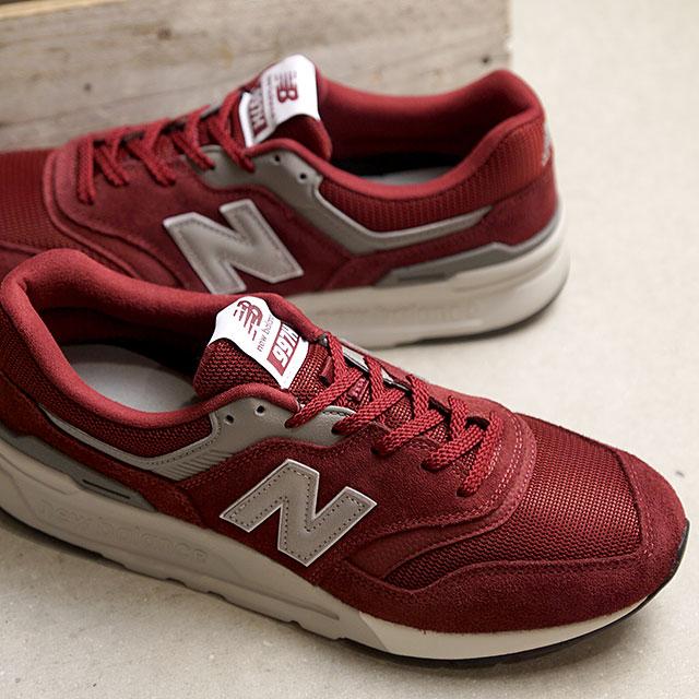 【即納】ニューバランス newbalance CM997H CD メンズ レディース スニーカー 靴 BURGUNDY バーガンディー系 (CM997HCD SS19)