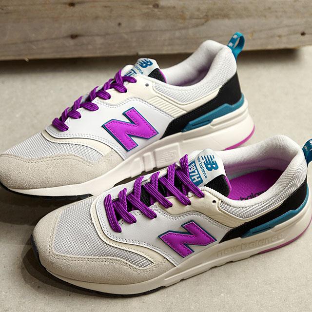 fef3e3f92b New Balance newbalance CW997H NA Lady's sneakers shoes WHITE/PURPLE white  system (CW997HNA SS19)