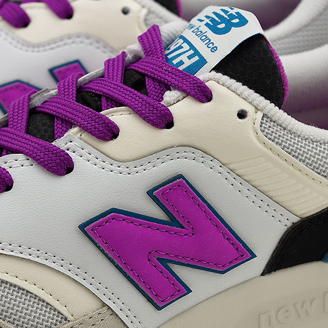 c10bb77d New Balance newbalance CW997H NA Lady's sneakers shoes WHITE/PURPLE white  system (CW997HNA SS19)