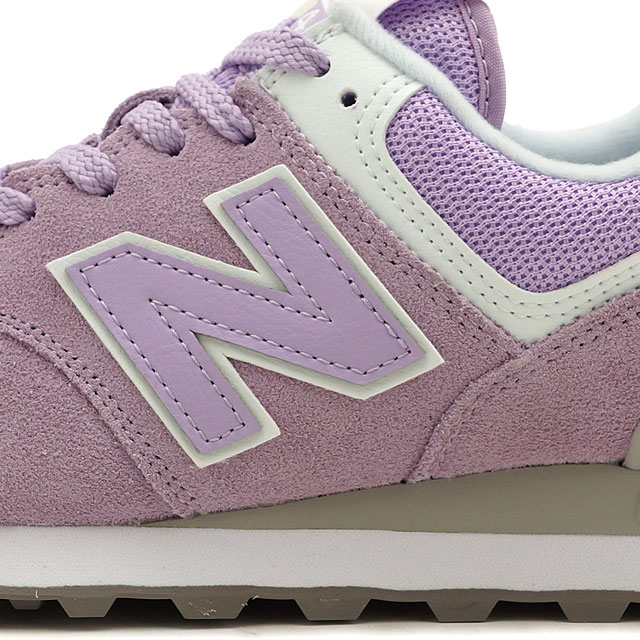 fe384cc0 New Balance newbalance WL574 ESD Lady's sneakers shoes VIOLET GLO pink  system (WL574ESD SS19)