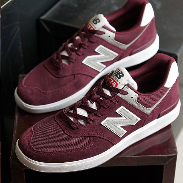 【即納】ニューバランス newbalance AM574 MRR メンズ レディース スニーカー 靴 BURGUNDY バーガンディー系 (AM574MRR SS19)