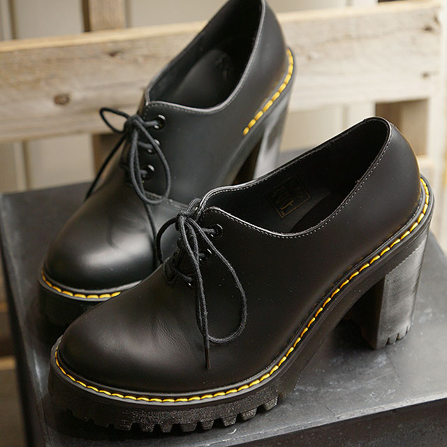 Doctor Martin Dr.Martens Lady's Salome SALOME high heeled shoes BLACK black system (16733001 SS19)