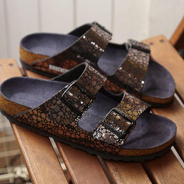 ビルケンシュトック BIRKENSTOCK アリゾナ Arizona メンズ レディース サンダル 靴 Metallic Stones Black (GC1008871 GC1008872 SS19)
