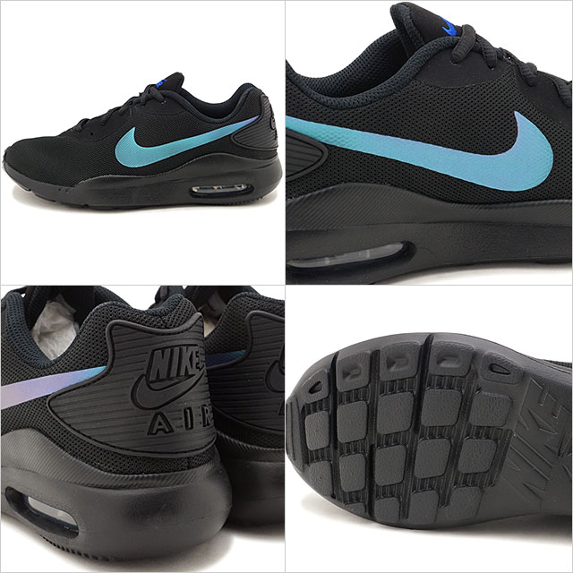 Nike NIKE Lady's women Air Max light WMNS AIR MAX OKETO sneakers shoes black multicolored (AQ2231 001 SS19)