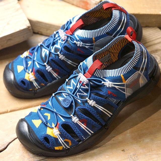 【サイズ交換片道送料無料】キーン KEEN メンズ エヴォフィット ワン MEN EVOFIT 1 サンダル 靴 Turquoise/Black (1021395 SS19)