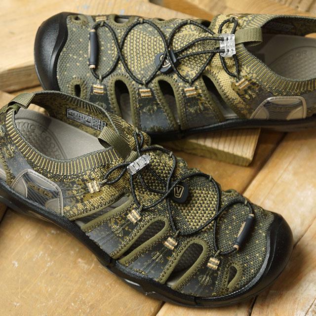 【サイズ交換片道送料無料】キーン KEEN メンズ エヴォフィット ワン MEN EVOFIT 1 サンダル 靴 Dark Olive/Antique Bronze (1021388 SS19)