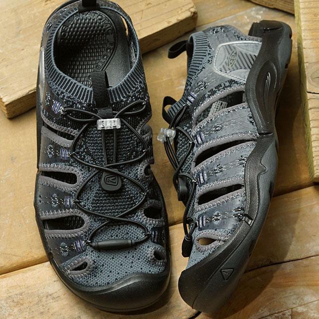【サイズ交換片道送料無料】キーン KEEN メンズ エヴォフィット ワン MEN EVOFIT 1 サンダル 靴 Heathered Black/Magnet (1021390 SS19)