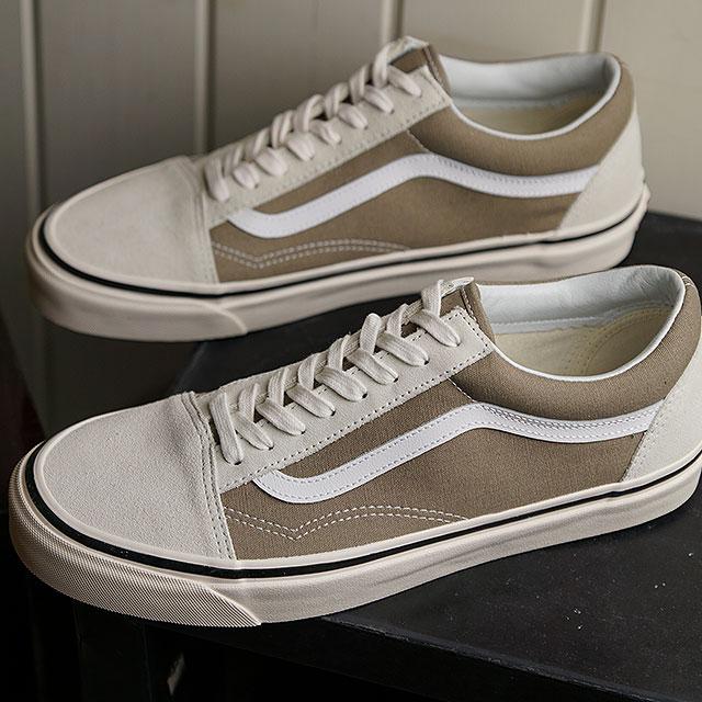 Vans VANS Anaheim factory old school 36 DX ANAHEIM FACTORY OLD SKOOL 36 DX men gap Dis station wagons sneakers shoes OG WHITEOG BIRCH (VN0A38G2VRU