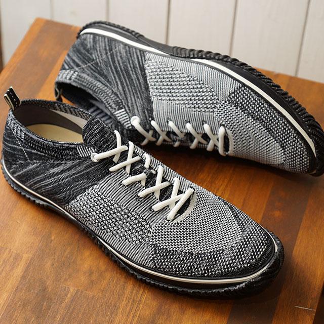 【返品送料無料】スピングルムーブ SPINGLE MOVE 日本製 ナイロン ジャガードニット SPM-526 メンズ スピングルムーヴ スニーカー 靴 Black (SPM526-05 SS19)