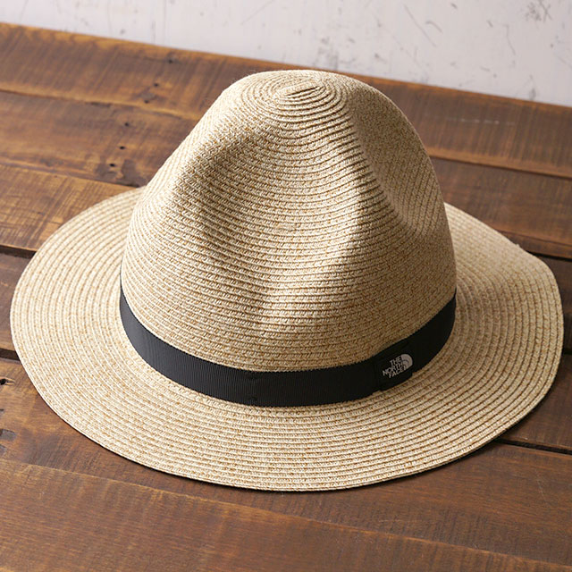 9ea612486 The North Face THE NORTHFACE washable mountain braid hat Washable Mountain  Braid Hat men gap Dis raffia hat straw hat outdoor (NN01914 SS19)