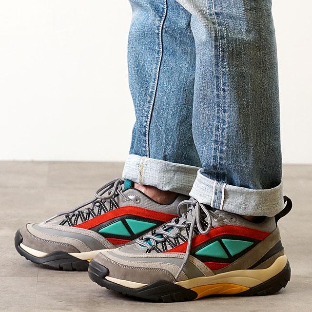 【月間優良ショップ】グラビス gravis クイン QUINN メンズ・レディース スニーカー 靴 MULTI カーキ系 (05080 SS19)【ts】【e】