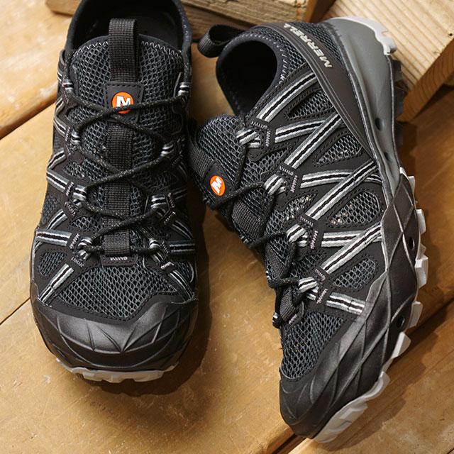 【即納】メレル MERRELL メンズ チョップロック MNS CHOPROCK ウォーターシューズ メガグリップ スニーカー 靴 BLACK ブラック系 (48675 SS19)