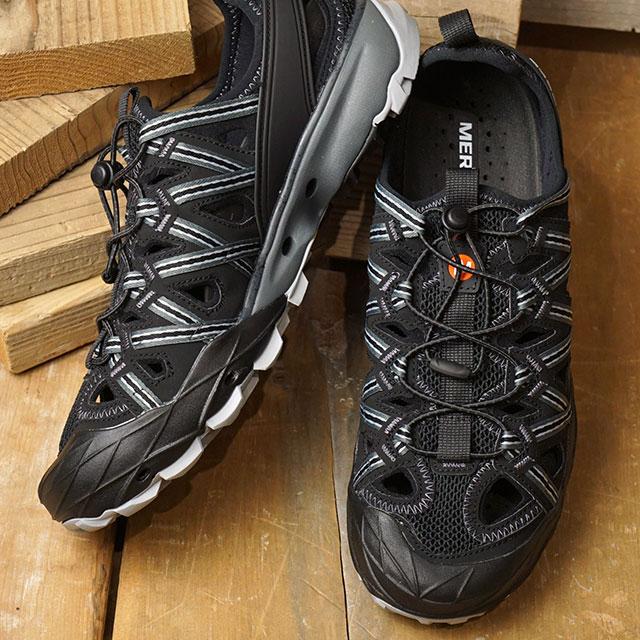 メレル MERRELL メンズ チョップロック シャンダル MNS CHOPROCK SHANDAL ウォーターシューズ メガグリップ サンダル 靴 BLACK ブラック系 (50325)【e】【ts】