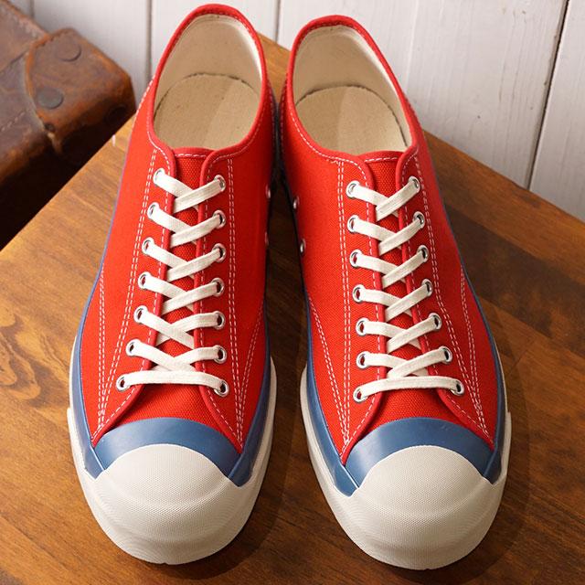 【即納】トースト フットアンドアイギア toast FOOT & EYE GEA ジャム jam メンズ スニーカー シューズ 靴 future red レッド/ブルー レッド系 (SS19)