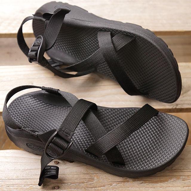 チャコ Chaco レディース ゼットクラウド WMS ZCLOUD ストラップ サンダル スポーツサンダル 靴 SOLIDBLACK ブラック系 (J107366 SS19)