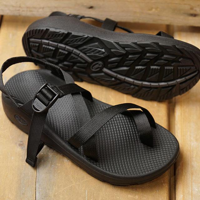 チャコ Chaco メンズ ゼットクラウド2 MNS ZCLOUD2 ストラップ サンダル スポーツサンダル 靴 SOLIDBLACK ブラック系 (J106765 SS19)