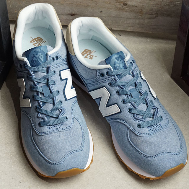 new concept a9362 d25dc New Balance newbalance ML574 men gap Dis sneakers shoes STB BLUE/HEMP blue  system (ML574STB SU19)
