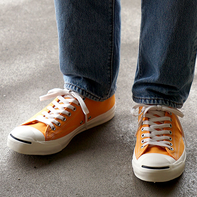 コンバース CONVERSE ジャックパーセル ウォッシュドキャンバス RH JACK PURCELL WASHEDCANVAS RH メンズ・レディース スニーカー 靴 ORANGE オレンジ系 (33300010 SS19)【ts】【e】