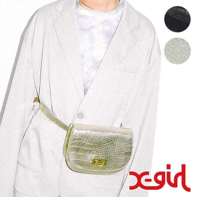 【即納】エックスガール X-GIRL レディース ベルトバッグ BELT BAG ショルダーバッグ (XGIRL ) (5191043 SS19)