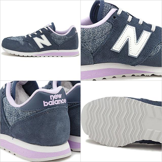 07b6d355 New Balance newbalance WL520 TLD Lady's sneakers shoes VINTAGE INDIGO navy  system (WL520TLD SS19)