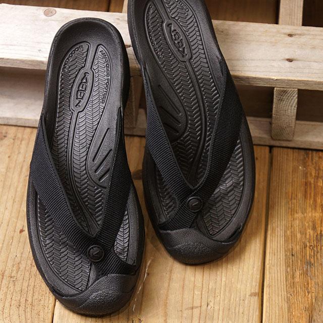 【12/31 14時まで!ポイント10倍】キーン KEEN メンズ ワイメア エイチツー MEN WAIMEA H2 サンダル 靴 Triple Black/Black (1021157 SS19)
