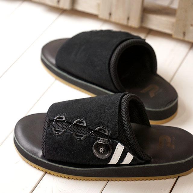 【あす楽対応】【返品送料無料】パトリック PATRICK リバプール・スライド LIVERPOOL-S メンズ レディース 日本製 サンダル 靴 ブラック系 BK (719031 SS19)
