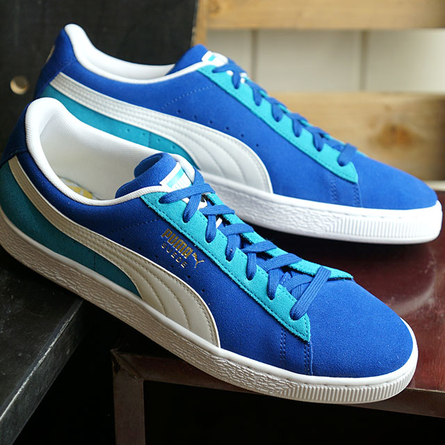 Puma PUMA スウェードクラシックココノ SUEDE CLASSIC KOKONO men gap Dis suede sneakers shoes サーフザウェブ Puma white multicolored (369,640 02 SU19)