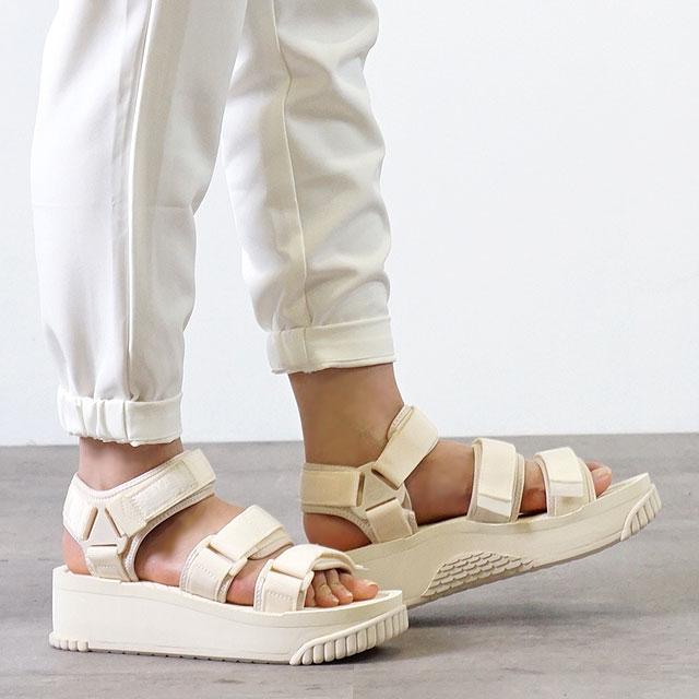 SHAKA シャカ サンダル ネオ バンジー プラットフォーム NEO BUNGY PLATFORM メンズ・レディース 厚底 ストラップ アウトドア 靴 NATURAL ホワイト系 (SK433105)【ts】