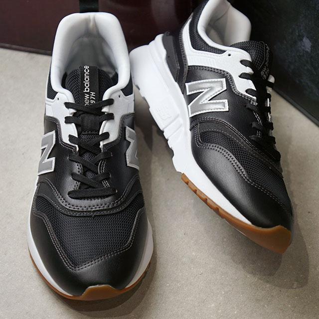 【即納】ニューバランス newbalance CM997H メンズ レディース スニーカー 靴 CO BLACK/SILVER ブラック系 (CM997HCO SU19)