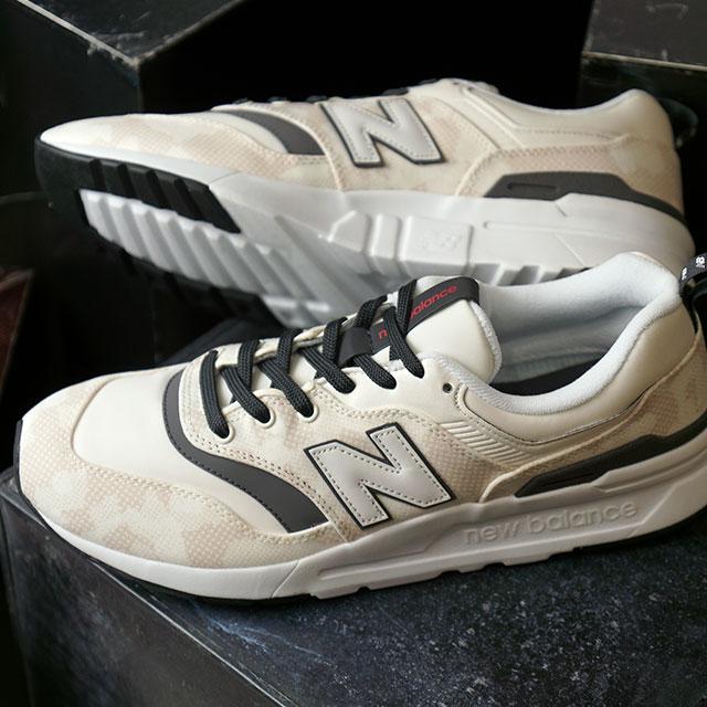 【即納】ニューバランス newbalance CM997H メンズ レディース スニーカー 靴 BH SEA SALT/CAMO ホワイト系 (CM997HBH SU19)