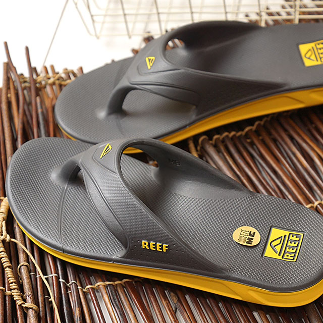 766c7a96db7c Leaf REEF men sandals one ONE beach sandal GRY gray system (RF0A3ONC SS19)