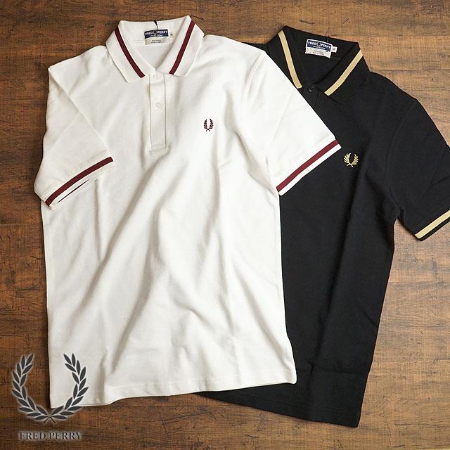 【月間優良ショップ】フレッドペリー FRED PERRY 英国製 ポロシャツ メンズ シングル ティップド フレッドペリー シャツ SINGLE TIPPED FRED PERRY SHIRT (M2 SS19)【e】