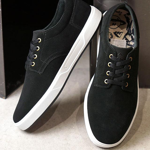 【月間優良ショップ】エメリカ Emerica スパンキー G6 SPANKY G6 メンズ レディース スケシュー スケートシューズ スニーカー 靴 BLACK/WHITE ブラック系 (SS19)